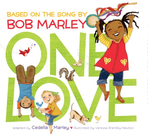 One Love: (Multicultural Childrens Book, Mixed Race Childrens Book, Bob Marley Book for Kids, Music Books for Kids) (English Edition)