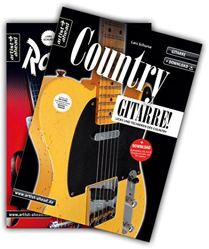 Country-Gitarre & Rockabilly-Gitarre-Set: Licks und Techniken des Country & Rockabilly (inkl. Download). Lehrbuch für Gitarre. Musiknoten.: Licks und Techniken des Country & Rockabilly (inkl. 2 CDs)