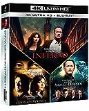 Pack Dan Brown: Ángeles Y Demonios + El Código Da Vinci + Inferno (4K UHD + BD) [Blu-ray]