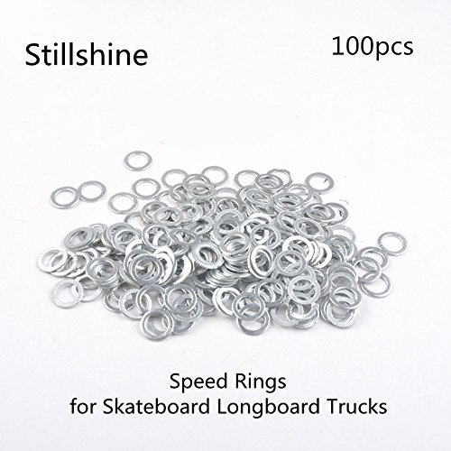 Speedringe für alle Achsen Speed rings washers for skateboard longboard 100pcs