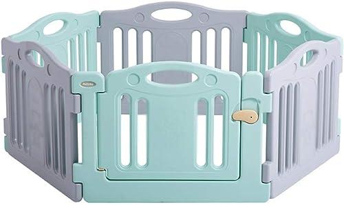 Las ventas en línea ahorran un 70%. LXAYM Panel De Actividades De Plástico For Bebés For Bebés Bebés Bebés - Cerradura De Seguridad Mejorada - Barrera Portátil For Niños con Divisor De Habitación (Talla   83x62cm)  mejor oferta