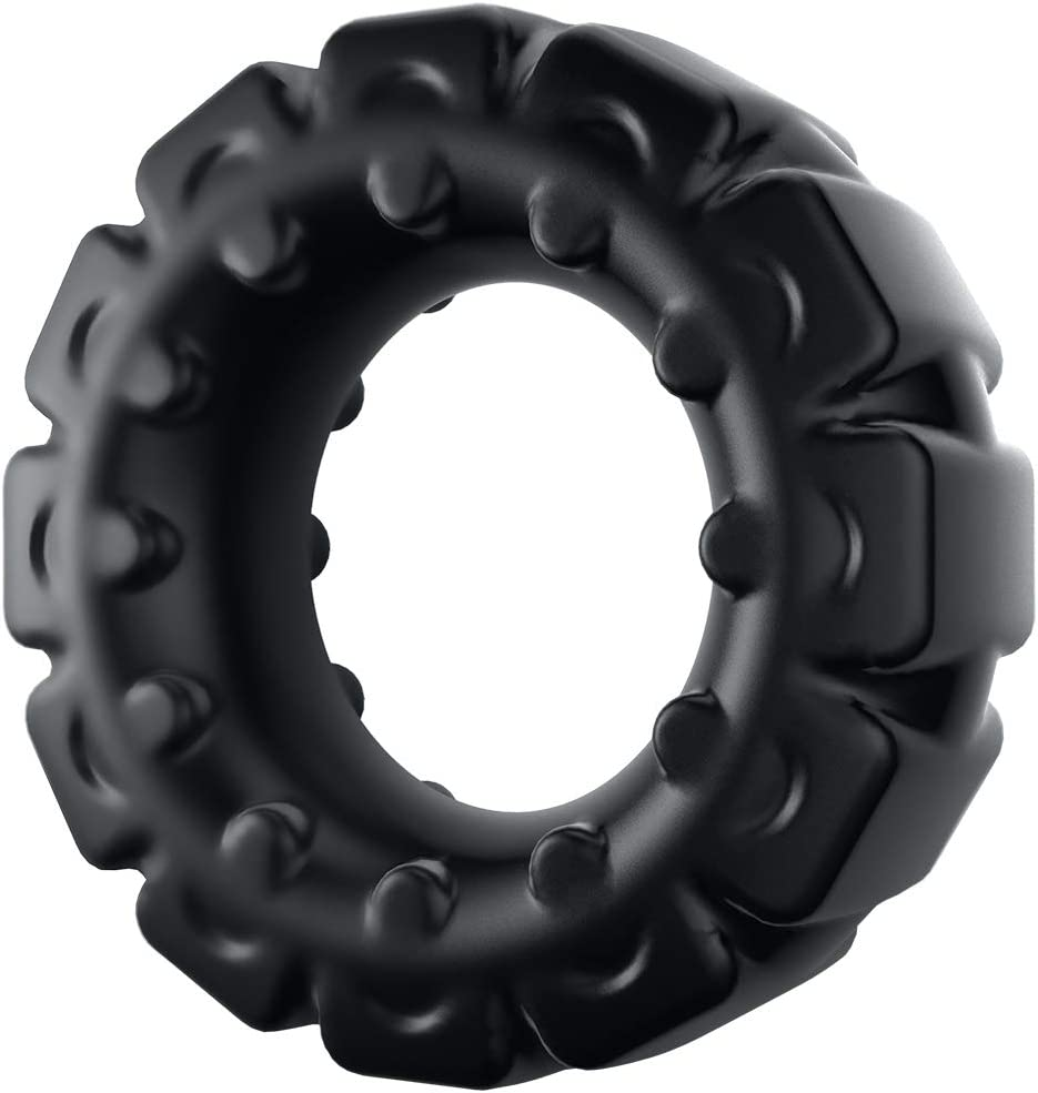 Extra Thick Silicone Cock Popular brand in the world Ring Stretchy for Men Penis Ple Rings Ranking TOP5