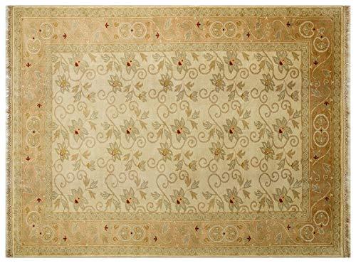ALLMODE Handgefertigter Teppich von Pasha Oushak. Größe: 174 x 228 cm.