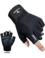Atercel Workout Gloves, Best Exercise Gloves for Weight Lifting, Cycling, Gym, Training, Breathable & Snug fit, for Men & Women