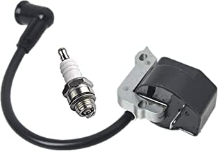 Notos 4140 400 1308 Ignition Coil Module with Spark Plug Replace for Stihl FC55 FS38 FS45 FS55 FS55C HL45 HS45 KM55 Trimmer Brushcutter Engine Magneto Parts