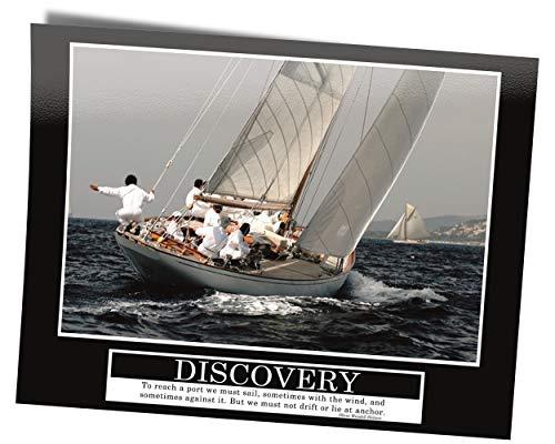GREAT ART Discovery Original - Barney Stinson Wall Poster - 85 x 60 cm velero cómo conocí a tu Madre Motivación Barney Stinson Office decubrimiento Cuadro póster - No. 9