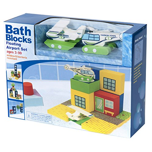 Product Image of the BathBlocks Floating Airport Set in Gift Box