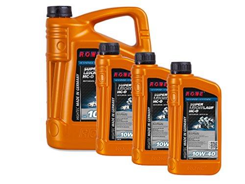 8 (5+3) Liter ROWE HIGHTEC SUPER LEICHTLAUF HC-O SAE 10W-40