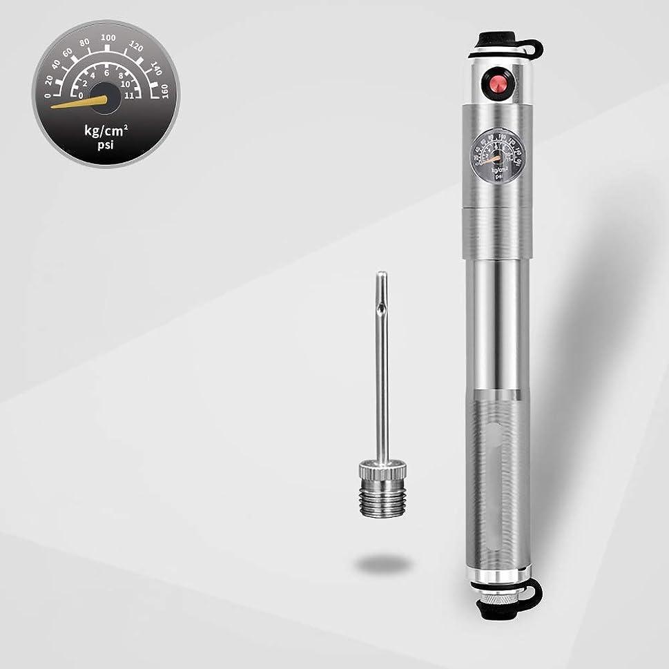 翻訳被害者表面的なゲージ信頼性のあるハンドエアーポンプ対応シュレーダープレスタ自転車タイヤポンプ付きミニバイクポンプ - 軽量&パワフル (Color : Suit 7)