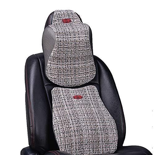 SuDeLLong Autosteunkussen Memory Foam Kussen Terug Kussen Verminderen Terug Wasbare Hoezen Geschikt voor Auto Stoel Kantoorstoel en Rolstoel