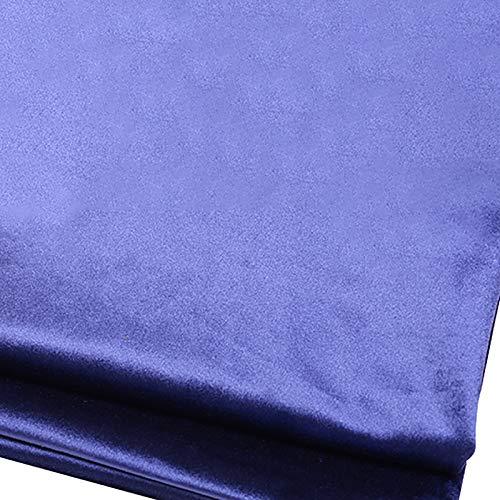 MUYUNXI Tela De Terciopelo Suave para Coser De Chaquetas Decoración Decoración del Hogar Cortinas Tapicería Vestido Sillas 280 Cm De Ancho Vendido por 2 Metro(Color:Azul Real)