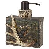 moose soap dispenser - Hautman Brothers Back Bay Moose Hautman Lotion Pump, Multi