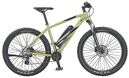 """Prophete Unisex– Erwachsene Graveler 21.ESM.10 E-MTB 27,5"""" BLAUPUNKT HR-Motor E-Bike, olivgrün, RH 48"""