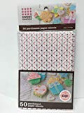 Good Cook Sweet Creations Paper 50 Sheets Parchment, One Size, White