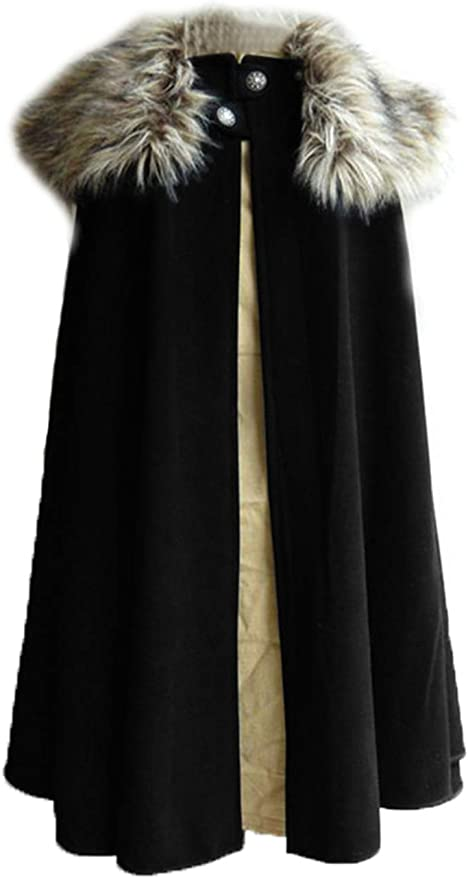 Steampunk Jacket   Steampunk Coat, Overcoat, Cape Mens Victorian Steampunk Cape Woollen Cloth Cloak Medieval Lord Cosplay Cloak Samurai Cape Role Play Costume  AT vintagedancer.com