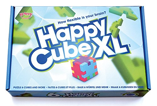 Happy Cube XL 6-pack puzzles cubes with cards in giftbox