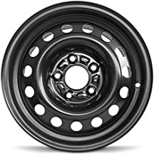 Road Ready Car Wheel For 2011-2016 Hyundai Elantra 2014-2018 Kia Forte 15 Inch 5 Lug Black Steel Rim Fits R15 Tire - Exact OEM Replacement - Full-Size Spare
