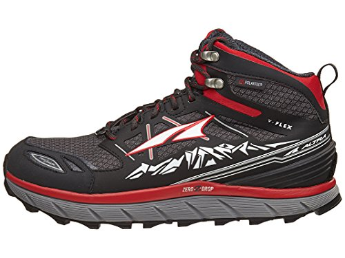 ALTRA Men's Lone Peak 3 Mid Neo Running Shoe, Color: Red, Size: 10, Width: D (A1653MID-2-100-D)