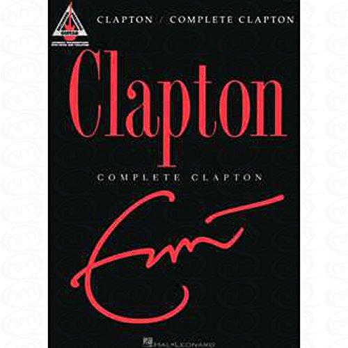 COMPLETE - arrangiert für Gitarre - mit Tabulator [Noten/Sheetmusic] Komponist : CLAPTON ERIC