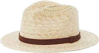 قبعة فيدورا رجالية من BRIXTON مع القش الصوفي