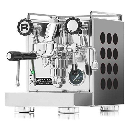 Rocket Espresso | Appartamento | Espressomaschine | Schwarz