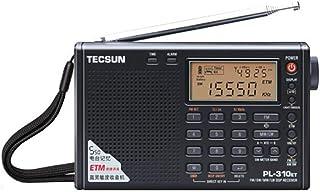 短波/AM/FM DSP処理 BCLラジオ TECSUN PL-310ET(ブラック) ★海外短波ラジオ、高感度受信★ 旧PL-310の後続機種 日本語マニュアル付き