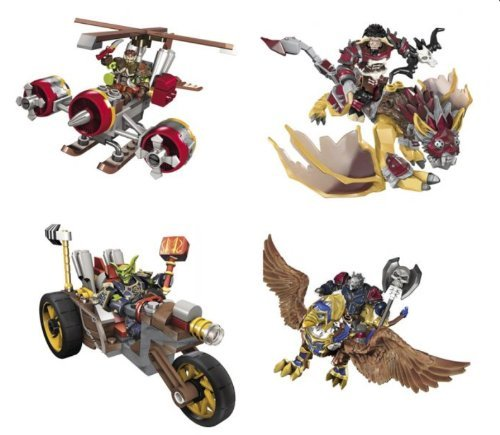 One Way WORLD OF WARCRAFT Mount Sortiment - 5 pz
