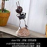 Willower Amerikanische Schreibtischartikel Kinderzimmerausstattung Hausweinschrank-Dekorationen Wohnzimmer TV-Schrank Creative Desktop, Brauner Wasserkocher Ameise