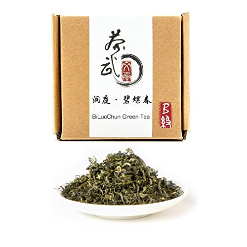 Cha Wu-[B] BiLuoChun Green Tea,3.5oz(100g),Loose Leaf Tea,DongTing Mountain,Chinese Famous Green Tea
