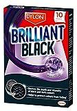 Dylon lavandería hojas, 10hojas), color negro brillante