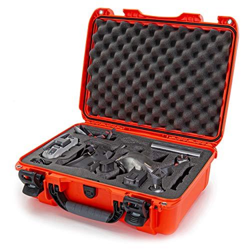 Nanuk 925 Waterproof Hard Case with Foam Insert for DJI FPV Fly More Kit - Orange