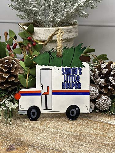 None-brands Christmas Xmas Decor 2020 Ornament Mailman ornament, Ornament for mail carrier, mail carrier ornament, mailman Ornament, postman Ornament, postman
