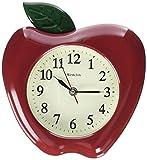 """Westclox RA37340 3-Dimensional Apple 10"""" Wall Clock, Multicolor"""