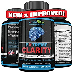 SYNERGY: The interaction or cooperation of two or more substances to produce a combined effect greater than the sum of their separate effects. Extreme Clarity is a natural brain supplement that use synergy to enhance brain function. Other natural bra...