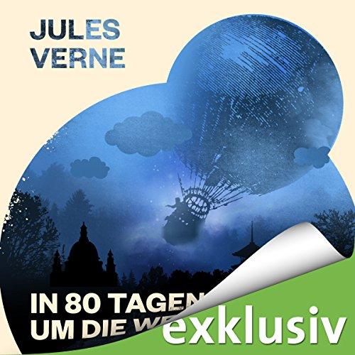 In 80 Tagen um die Welt audiobook cover art
