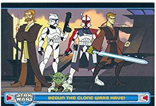 Star Wars Clone Wars 2004 Promo Card P1
