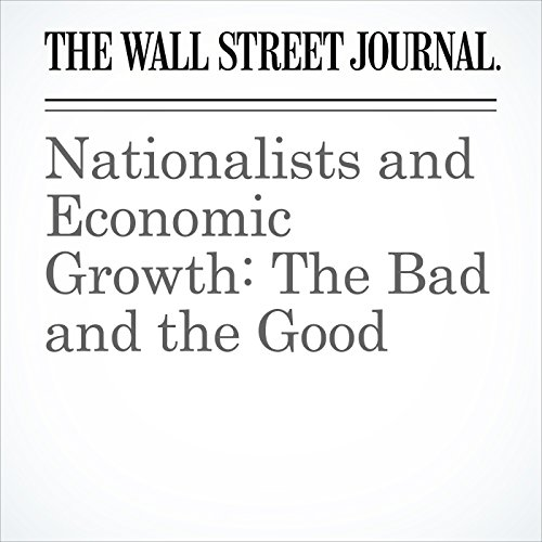 Nationalists and Economic Growth: The Bad and the Good copertina