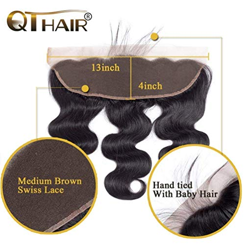 Cheap 13x4 lace frontal closure _image2