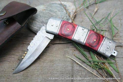 Très joli damastdolchmesser kanekari couteaux