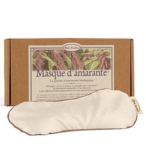 MILLE OREILLERS Masque d'Amarante Bio 10 x 22 cm