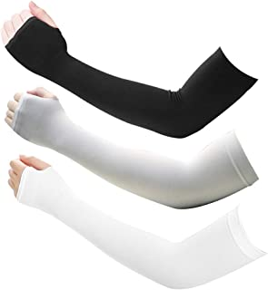 UV Protection Cooling Arm Sleeves Sun Sleeves to Cover Arms for Men Women