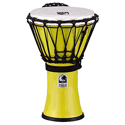 "TOCA Percussion トカ ジャンベFreestyleII Djembe 7""-Pastel Yellow/【国内正規品】 TFCDJ-7PY"