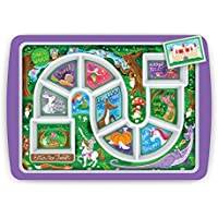 Genuine Fred Winner Enchanted Forest Kid's Dinner Tray