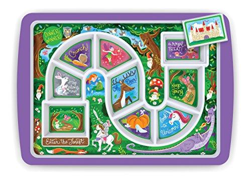 Fred & Friends 5175839 Kinder-Tablett für Abendessen Zauberwald 30 x 21.2 x 2 cm Mehrfarbig