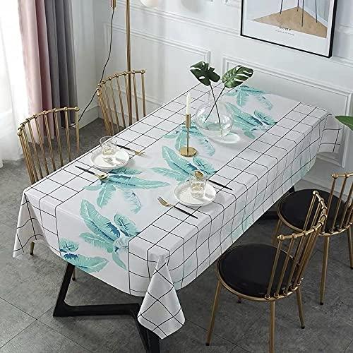 sans_marque Paño de mesa, anti-derrame y anti-pliegue cubierta de tabla suave, utilizado para la decoración de mesa de la cocina 80* 120cm