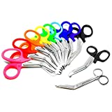 Best Bandage Scissors - Rainbow of EMT Paramedic Scissors 11 per Set Review