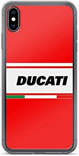 RobertsShop Ducati Italy Case Cover Compatible for iPhone (7 Plus/8 Plus)