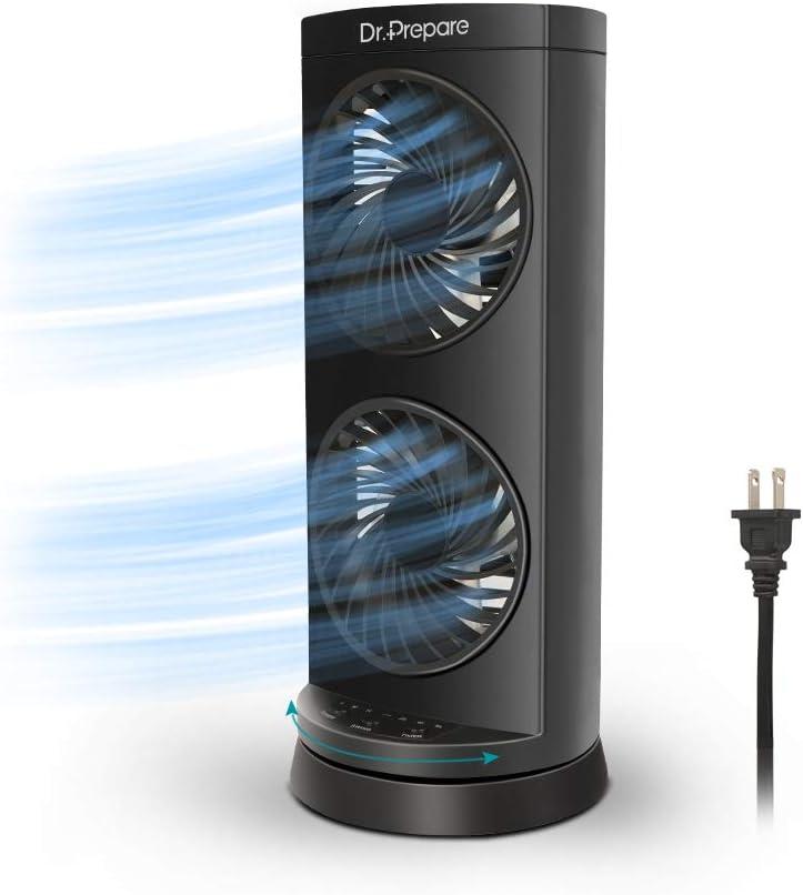 Ventilador de circulación de aire Abanico Ventilador Potente Compacto Para Casa