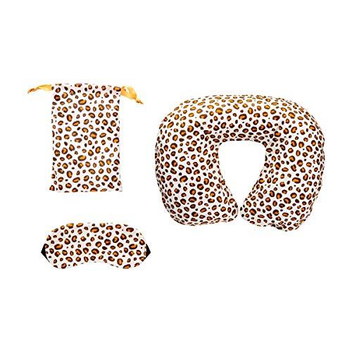 Sass & Belle Leopard Love Reisekissen und Augenmaske Set