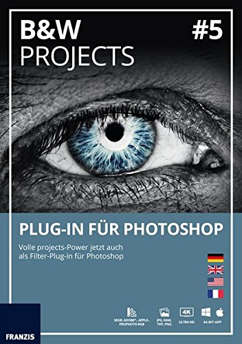 Price comparison product image BLACK & WHITE projects 05 Plug-In für Photoshop (Win & Mac)